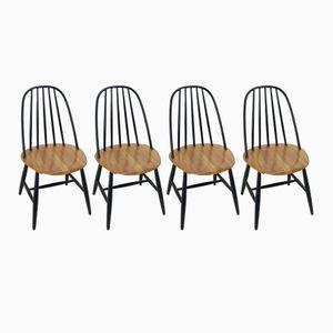 Stühle von Ilmari Tapiovaara für Edsvon Verken, 1950er, 4er Set
