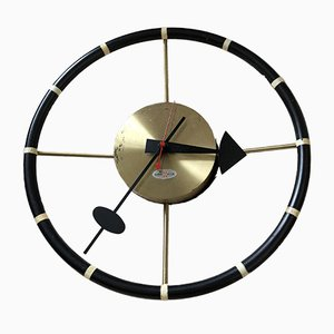 Steering Wheel Clock by George Nelson for Howard Miller, 1955