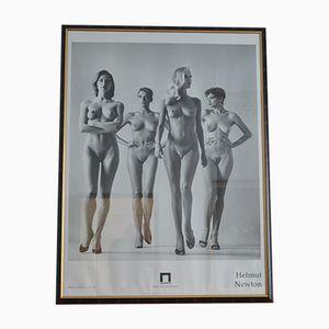 Poster della mostra di Helmut Newton al Museo Castello Di Rivoli, 1994
