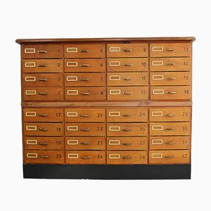 Large Bank of Drawers from AGI, 1950s