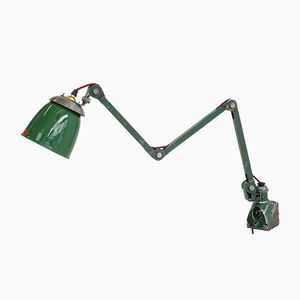 Wall Mounted Industrial Task Lamp from EDL, 1930s