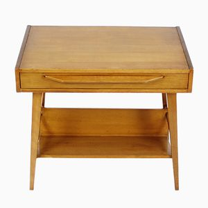 Swiss Mid-Century Table with Drawer from Pago