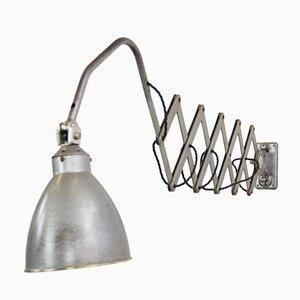 Lampada a forbice grande industriale di AGI, anni '30