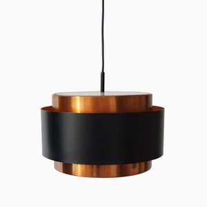 Saturn Copper Pendant Lamp by Jo Hammerborg for Fog & Mørup, 1960s