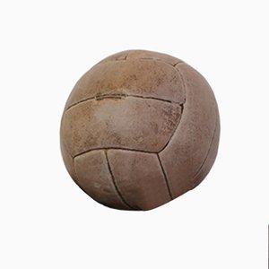 Tschechischer Leder Medizinball, 1930er