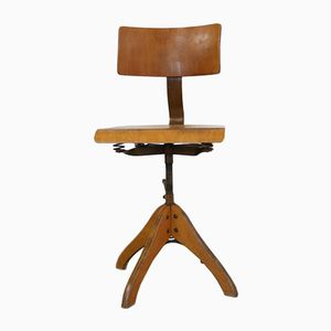 Deutscher Stuhl im Industriellen Stil von Margarete Klöber für Polstergleich, 1930er