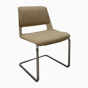 Mid-Century Modern 2717 Tubular Desk Chair by André Cordemeyer for Gispen, 1960s