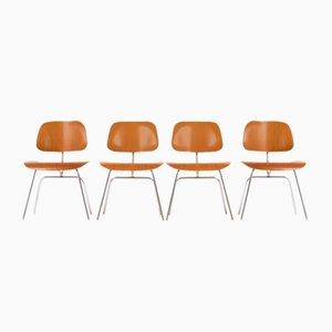DCM Stühle von Charles & Ray Eames für Herman Miller, 1960er, 4er Set