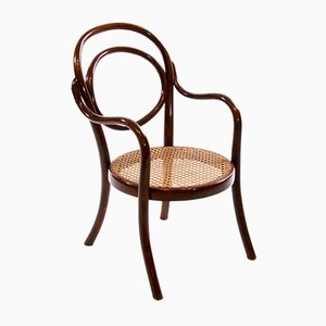 Art Nouveau No. 1 Children Bentwood Armchair from Thonet