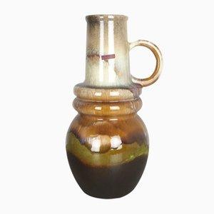 Large Vintage Vienna Fat Lava Vase from Scheurich, 1970s