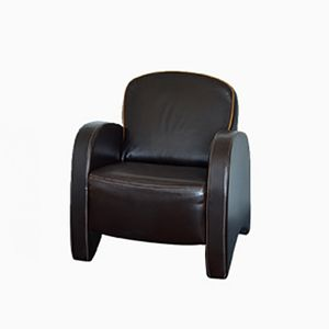 Vintage Art Deco-Style Club Chair