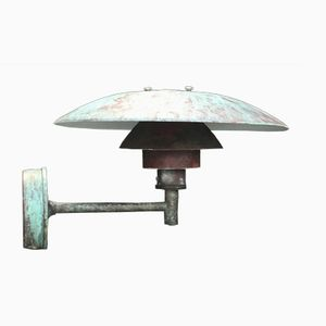 Ph 4.5/3 Copper Outdoor Wall Light by Poul Henningsen for Louis Poulsen