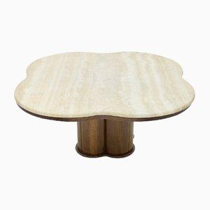 Vintage Travertine Cloud Coffee Table