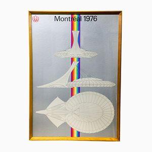Sérigraphie Vintage des Jeux Olympiques de Montréal, 1972