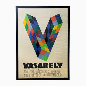 Affiche d'Exposition Victor Vasarely, Hongrie, 1969