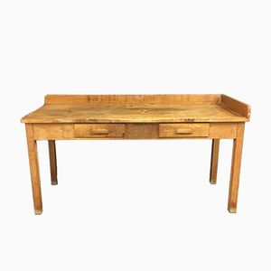 Vintage Beech Workbench