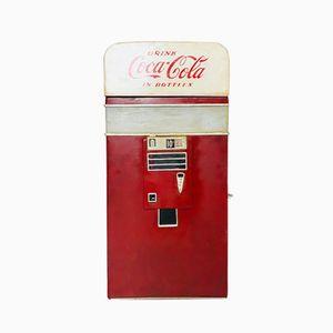 Vintage Industrial American Coca Cola Credenza, 1950s