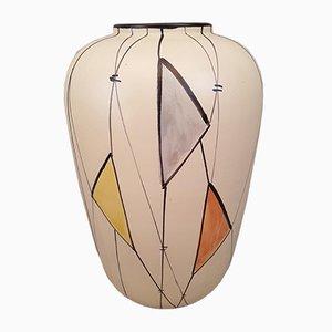 Große Keramik Vase, 1960er