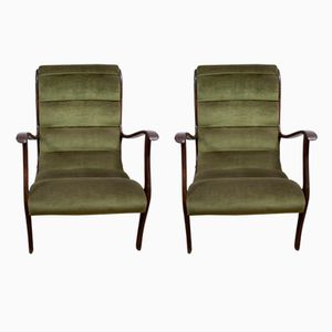 Mitzi Armchairs by Ezio Longhi for Elam, 1950s, Set of 2