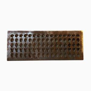 Industrial Art Deco Danish Chocolate Mold by Galle & Jessen, 1920s