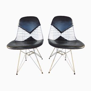 Vintage DKR Chairs by Charles & Ray Eames for Herman Miller, 1970s, Set of 2