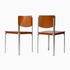 Vintage Korium Stühle von Tito Agnoli für Matteo Grassi, 1970er, 2er Set