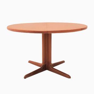Mid Century Modern Teak Extendable Dining Table from Skovby, 1960s