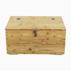 Vintage Solid Pine Chest