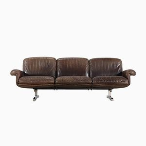 DS 31 3-Seater Leather Sofa from de Sede, 1975