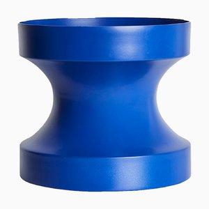 Blaue Cir-Cut Vase von LLOT LLOV