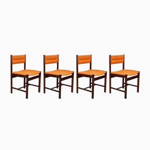 Danish Solid Rosewood Dining Chairs From Dyrlund 1970s Set Of 4