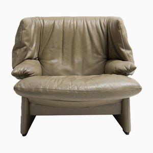 Italian Portovenere Wingback Chair by Vico Magistretti for Cassina, 1989