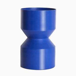 Vase Tri-Cut Bleu par LLOT LLOV