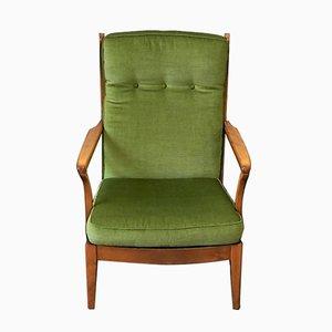 Swedish High Back Armchair, 1960s