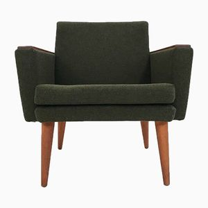 Norwegian Wool Armchair from Stokke, 1960s