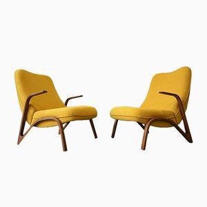 Deutsche Sessel von Paul Bode, 1950er, 2er Set