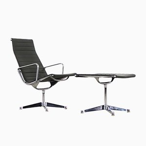 EA 116 Lounge Chair with Ottoman by Charles & Ray Eames for Herman Miller