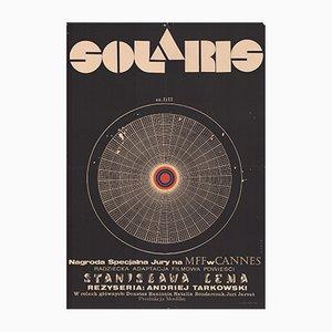 Poster vintage del film Solaris di Andrzej Bertrandt per CWF, Polonia, 1972