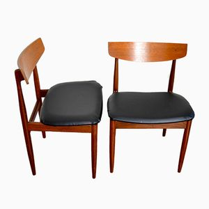 Teak Side Chairs by lb Kofod-Larsen for G Plan, 1960s, Set of 2