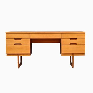 Schreibtisch aus Teakholz von Gunther Hoffstead für Uniflex, 1960er
