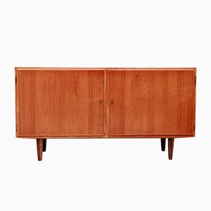 Danish Sideboard in Teak Veneer from Hundevad & Co., 1960s