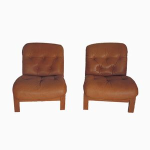 Easy Chairs by Oddvin Rykken for Rybo, 1970s, Set of 2