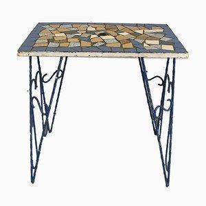 Italienischer Tisch mit Mosaik, 1950er