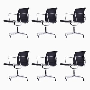 EA 108 Chairs by Charles & Ray Eames for Vitra, 1989, Set of 6