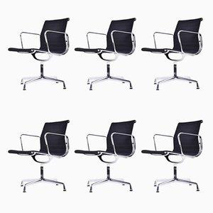 EA 108 Stühle von Charles & Ray Eames für Vitra, 1989, 6er Set