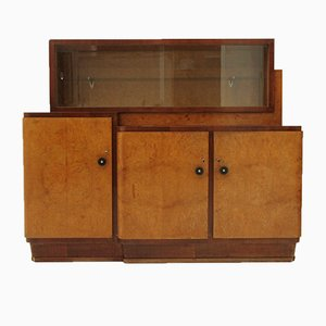 Italian Sideboard with Showcase, 1930s