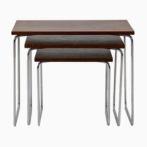 Rosewood Nesting Tables from Brabantia, 1967