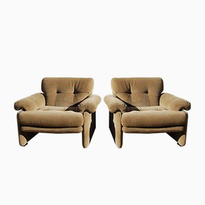 Vintage Model Coronado Armchairs by Tobia & Afra Scarpa for C & B Italia