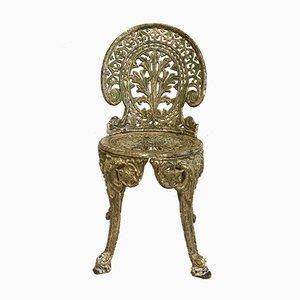 Cast Iron Garden Chair, 1950s