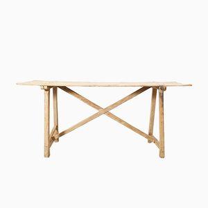 Schlichter Antiker Katalonischer Tisch